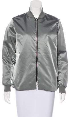 Acne Studios Zip-Up Bomber Jacket