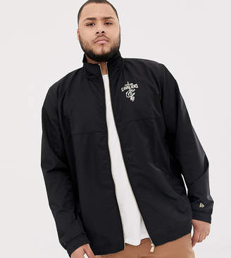7a25d3da26f5a ... New Era Cleveland Cavaliers track jacket in black exclusive to asos