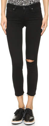 PAIGE Verdugo Crop Skinny Jeans $199 thestylecure.com