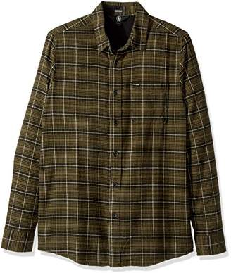 Volcom Men's Brodus Long Sleeve Flannel