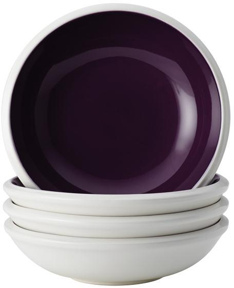 Rachael Ray 4-pc. Rise Fruit Bowl Set, Purple