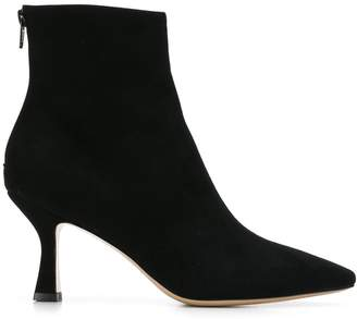 Fabio Rusconi snakeskin detail ankle boots