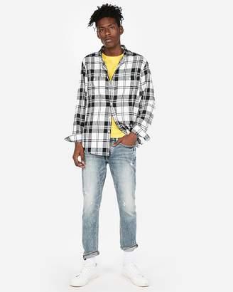 Express Plaid Flannel Shirt