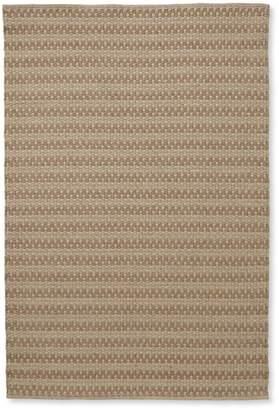 Indoor/Outdoor Basketweave Rug, Neutral Tweed