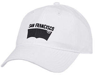 Levi's San Francisco Graphic Cotton Baseball Cap