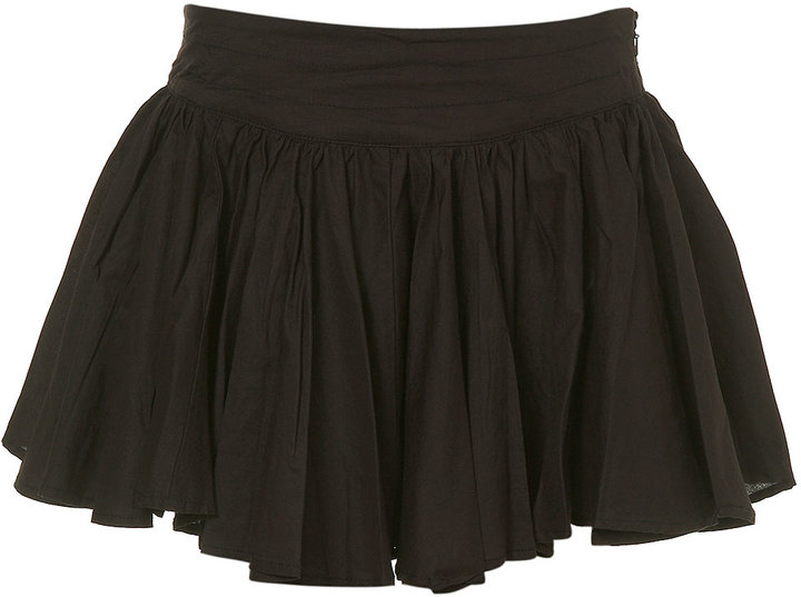 Pirate Basque Mini Skirt