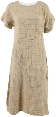 Zii Ropa Khaki Cotton Dresses