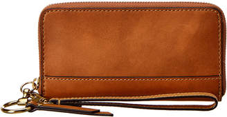 Frye Ilana Harness Small Zip Leather Wallet