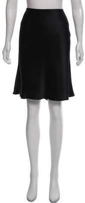 Blumarine Ruffle Embellished Flare Skirt