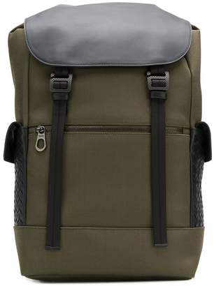 Bottega Veneta Intrecciato panel backpack
