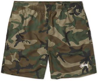 Stussy Camouflage-Print Shell Shorts