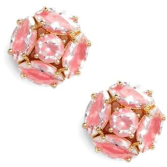 Kate Spade Flying Colors Marquise Cluster Earrings