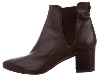 Stuart Weitzman Leather Chelsea Boots