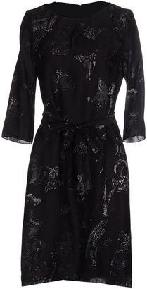 BOSS BLACK Knee-length dresses $388 thestylecure.com