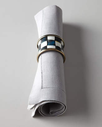 Mackenzie Childs MacKenzie-Childs Four Courtly Check Napkin Rings