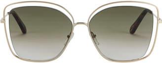 Chloé Poppy Square Sunglasses