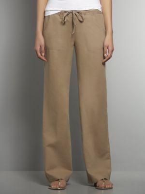 New York & Co. Linen Straight Leg Pant