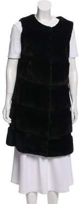 Breeder's Sheared Otter Fur Vest