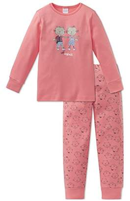 Schiesser Girl's Cat Zoe Md Anzug Lang Pyjama Sets