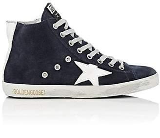Golden Goose Women's Francy Suede Sneakers - Navy