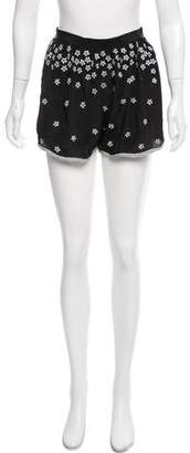 Opening Ceremony Silk Embroidered Shorts