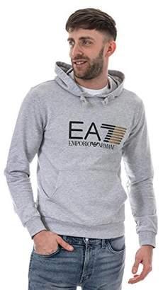 Emporio Armani Men's Training Core and Branding Visibility Hoodie