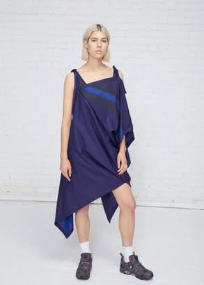 Issey Miyake 132 5 Asymmetrical Tie Dress