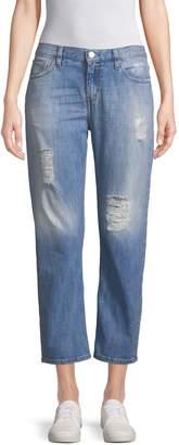 IRO Women's Nalyn Straight Leg Cotton Jeans