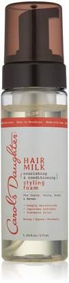 Carol's Daughter Hair Milk Styling Foam, 5.85 fl oz (Packaging May Vary)