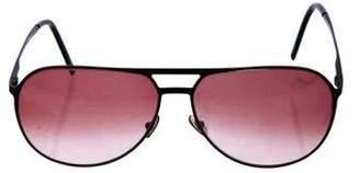 Christian Dior Gradient Aviator Sunglasses