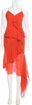 Nicholas Asymmetrical Maxi Dress