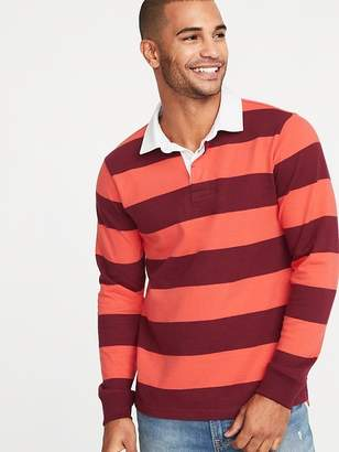 Old Navy Bold-Stripe Thick-Knit Jersey Rugby for Men