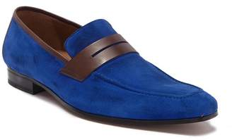 Mezlan Suede Loafer