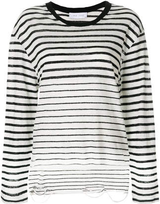 IRO striped sweater