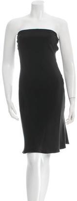 Jenny Packham Silk Strapless Mini Dress $65 thestylecure.com