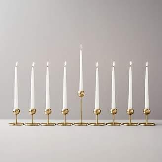 west elm Modern Brass Candleholders (Set of 9)