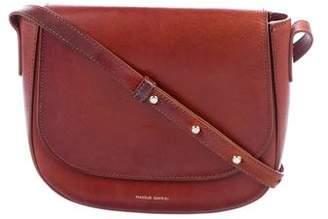 Mansur Gavriel Leather Saddle Crossbody Bag