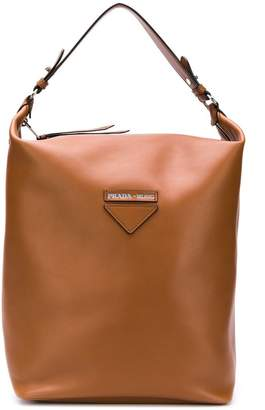 Prada Brown Tote Bags on Sale - ShopStyle 89584878e5