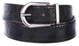 Dolce & Gabbana Snakeskin Dress Belt