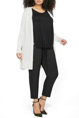 MICHEL STUDIO Duster Cardigan (Plus Size)