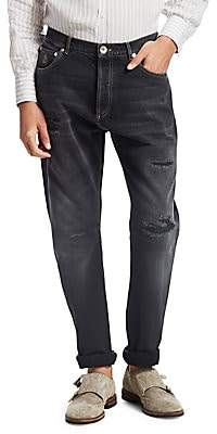 Brunello Cucinelli Men's Leisure Slim Fit Jeans