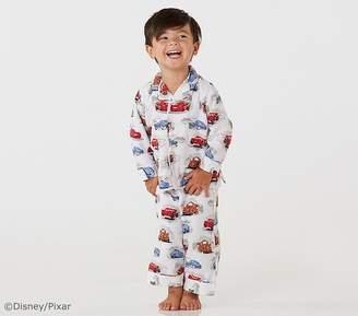 Pottery Barn Kids Pixar Cars Flannel Pajama, 2T