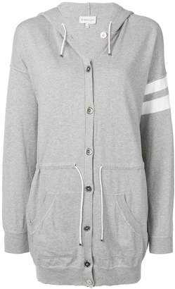 Moncler oversize button-up hoodie