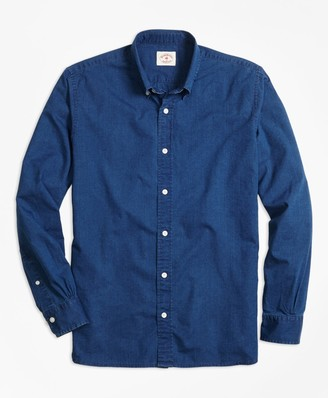 Brooks Brothers Dark Chambray Sport Shirt