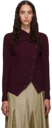 Isabel Marant Purple Cashmere Chass Cardigan