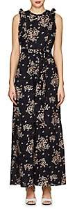 By Ti Mo byTiMo Women's Floral Cotton Wide-Leg Jumpsuit-Black