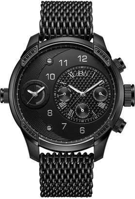 JBW Men's G3 World Traveler Set Diamond Watch