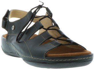 Wolky Lace-Up Sandals - Kite