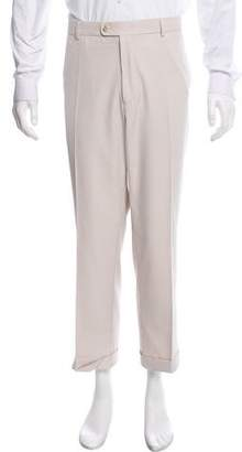 Peter Millar Cropped Flat Front Pants