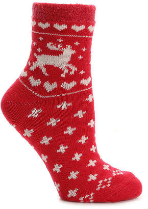 Sof Sole Nordic Deer Slipper Socks - Women's